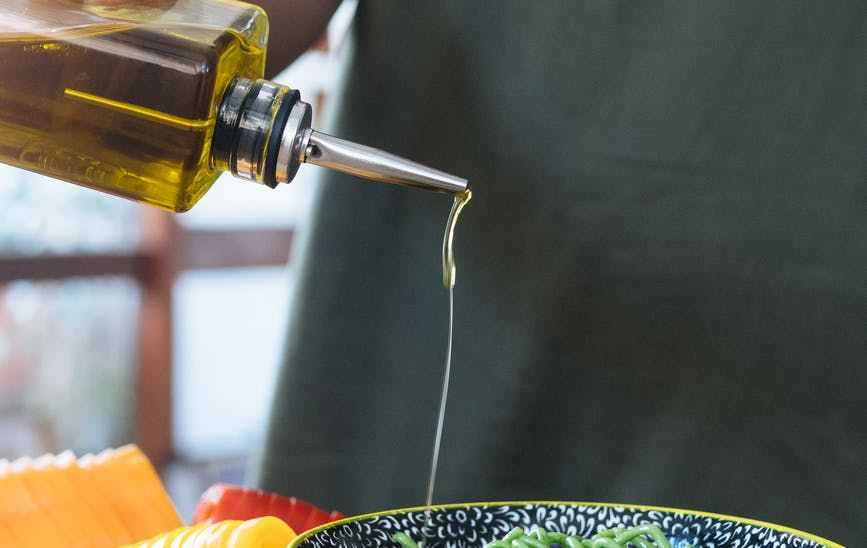 The Magical Olive Oil Drizzle